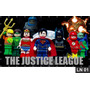 Liga Da Justiça Lego Painel 3m² Lona Festa Aniversários Bann