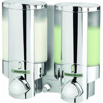 Dispensador De Shampoo/jabón Líquido 10 Oz 2 Contenedores