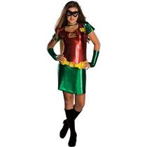 Disfraz Mujer Tween Mujer De Vestuario Robin-medium