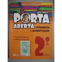 Livro Porta Aberta Letramento E Alfabetização - 2º Ano