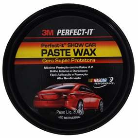 Cera Carnauba Cristalizadora 3m Paste Wax Perfect It