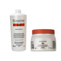 Kérastase Nutritive - Bain Satin 3-1lt/masc Masq Grossos 500