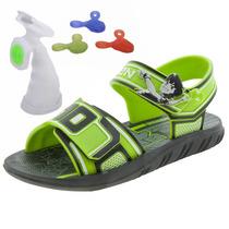 Papete Infantil Masculina Ben 10 Preto/verde Grendene Kids -