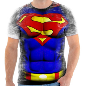 Camiseta Camisa Personalizada Superman Super Homem Herói 2