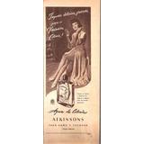 Publicidad Agua De Colonia Atkinsons (185)