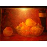 M. Jornet Eslava Bodegon Con Frutas Oleo S/hardboard