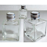 Envase Frasco Vidrio Difusor Aromático, (por 20 + Varillas)
