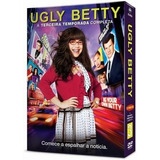 Dvd Ugly Betty - 3ª Temporada - 5 Discos - Original Lacrado
