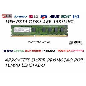 Memoria Smart Ddr3 2gb Pc10600 1333 Mhz (super Promoção)