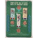 Medallitas De Israel Souvenier 20 Aniv Independencia Md 3179
