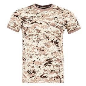 Camisa Tática Invictus T-shirt Tech Camuflado Digital Desert
