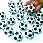 Kit 10 Lembrancinhas Bola De Futebol De Biscuit - Aprox 7 Cm