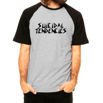 Suicidal Tendencies - Camiseta Raglan Hardcore Rf1