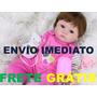 Boneca Bebê Reborn Larinha Pronta Entrega + Vários Acessório