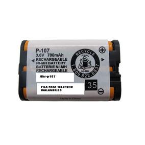 Bateria Pila Panasonic Hhr-p107 P Telefono Inalambrico Casa