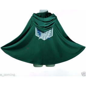 Capa Anime Shingeki No Kyojin Cloak Attack On Titan Cosplay