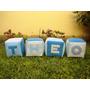 Cubos Didácticos Tela-bebés-sala Blanda-estimulación-30 Cm