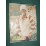 Revista Labores Moda Con Moldes Abr75 Crochet Tejido Sacos