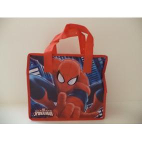 Spiderman Fiestas 10 Bolsas Dulceros Aguinaldos Bolo