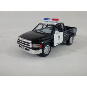 Miniatura Dodge Ram Policia Escala 1:44