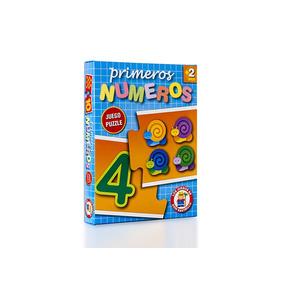 Ruibal Primeros Números Juego Puzzle Didáctico + 3 Años
