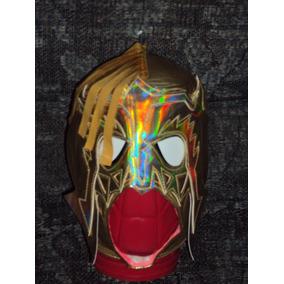 Cmll Aaa Mascara De Luchador Escorpion Dorado Para Adulto