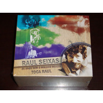 Box 6 Cds + Dvd Raul Seixas 25 Anos Sem O Maluco Beleza
