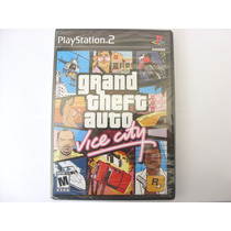 Gta Vice City Grand Theft Auto Ps2 Original Black Label