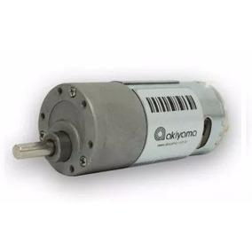 Micro Redutor Girocam Arduino Motor Dc 12v, 83rpm, 11kgf.cm