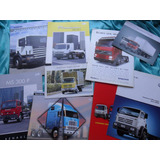 Lote Folleto Camion Scania Volvo Renault Vw No Manual