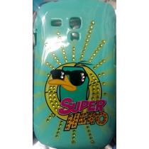 Protector Funda Mobo Disney Perry Samsung S3 Mini