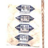 Envoltorio De Golosina Caramelo Mu Mu