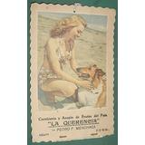Carton Almanaque Publicidad Carniceria Lassie Menchaca Fcgu