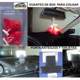 Guantes De Box Para Colgar+porta Tarjeta Y Anteojos