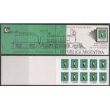 1987 Buzón Pilar Carnet 2345 Mint U$30... Impecable !!