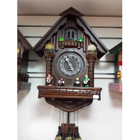 Relógio Cuco Madeira Sinix Modelo 803 Sensor Noturno Volume