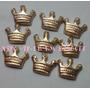 100 Coroas Dourada Biscuit 1,5cm Lembrancinha Realeza
