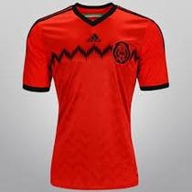 Camiseta Adidas México Oficial Vermelha De R$199,90
