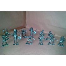 Vaqueros E Indios Figuras 6 Cm Con 16 Pzas Tipo Marx