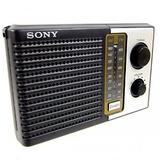 Radio Am Fm Portatil Sony Icff10 Analogica Pilas Original