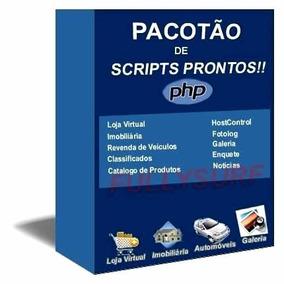 Pacotão Com + 5000 Scripts De Sites Em Php
