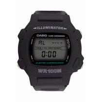 Relogio Casio W 740-1vs Digital Alarm Timer Crono Wr À Vista