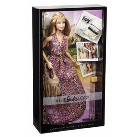 Boneca Barbie Collector - Look Vestido Lilás Hippie Mattel