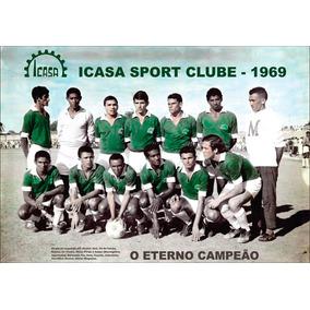 Poster Retro Do Time Do Icasa Sport Clube 1969