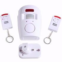 Kit Alarme Sem Fio Residencial Comercial 2 Controles Remoto