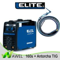 Kit Maquina De Soldar / Elite Arc 160s + Antorcha Tig 4m