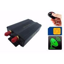 Gps Rastreador Bloqueador Veicular Satelite Tracking Gsm Sms
