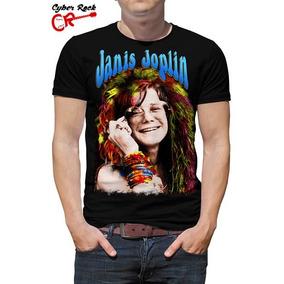 Camiseta Rock Janis Joplin (cm-155)