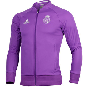 Chamarra Anthem Visitante Real Madrid Hombre adidas S95560
