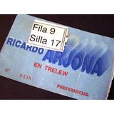 Ricardo Arjona 1era Gira Por La Argentina
